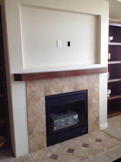 Gas Fireplace Tile